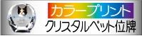 カラープリントのクリスタルペット位牌カテゴリーボタン