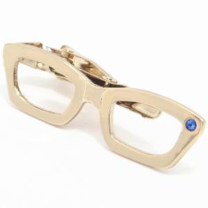 メール便送料無料 メガネ タイピン ストーンもキラリ眼鏡のネクタイピン|cuffsmania|09