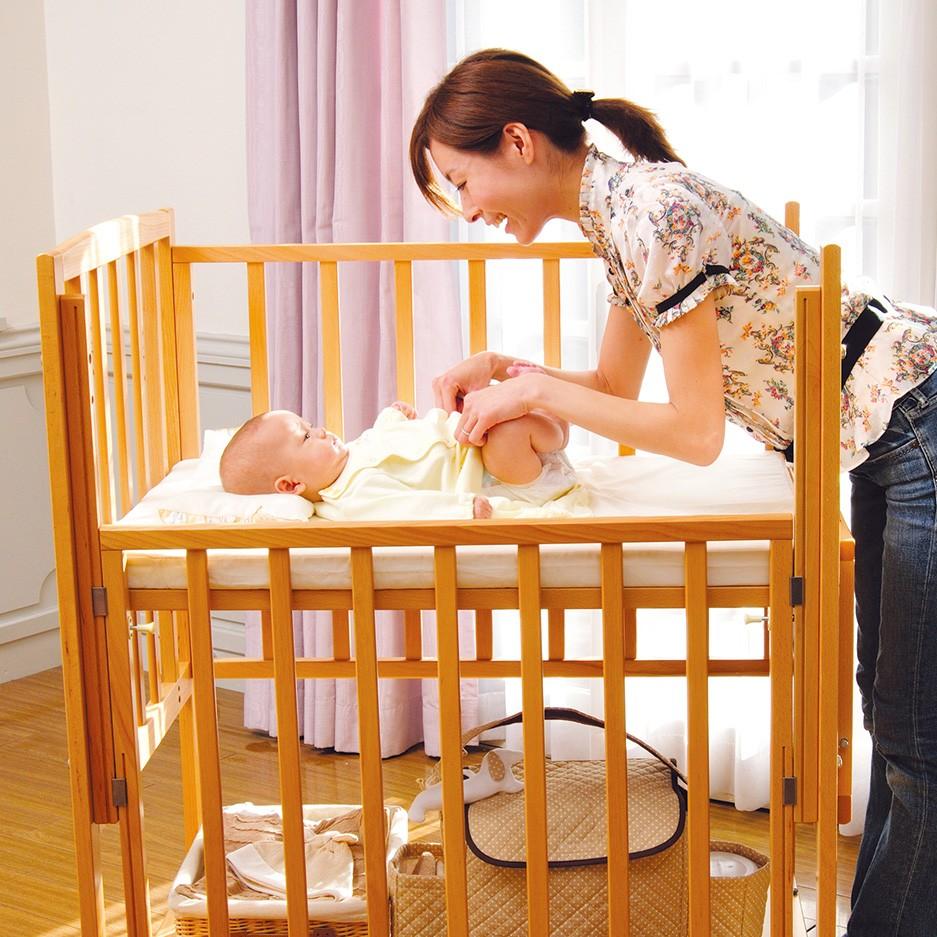 ベビーベッドの必要性と選び方。赤ちゃんの快適な睡眠環境を整えましょう!