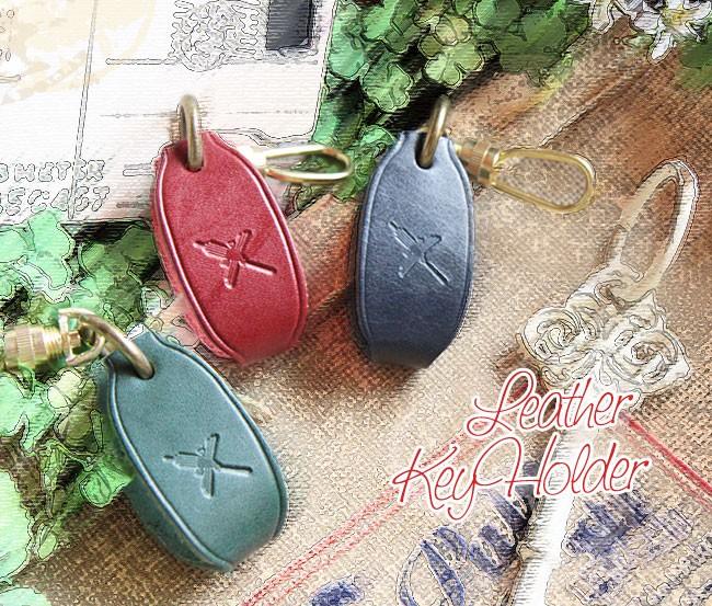 ☆激安★レザーの品質にこだわった☆革製キーケース(キーホルダー)