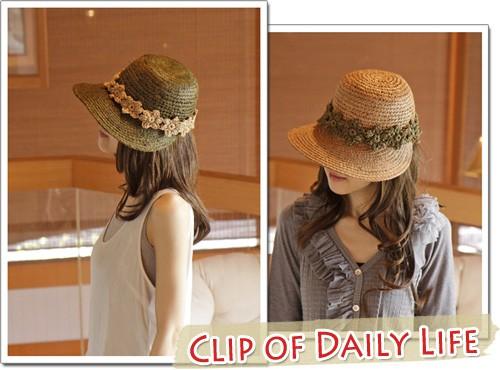 麦わら帽子・紫外線対策・UV対策・ラフィアハット・ピンク・ベースボールキャップ・野球帽