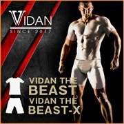 加圧シャツ + 加圧スパッツ セット (VIDAN the BEAST X ビダンザビースト ビーストエックス) 上下セット ビダン ザ ビースト 半袖 白 コンプレッションウェア・スパッツセット 『ビダンザビースト上下セット』