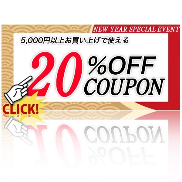 バレンタイン限定♪5000円以上で20%OFFクーポン♪