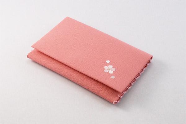 数珠袋「いちりん桜:ピンク」