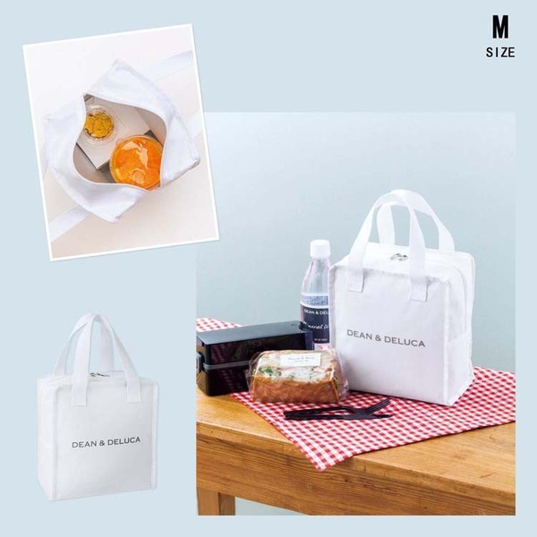 DEAN&DELUCA ディーン&デルーカ 保冷バッグ 保温バッグ ホワイト 3 size 送料無料 daimoon7 04