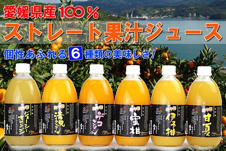 愛媛だいすけ果樹園 100%ストレート果汁ジュース