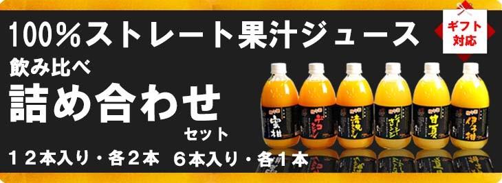 愛媛だいすけ果樹園 100%ストレート果汁ジュース 詰め合わせセット