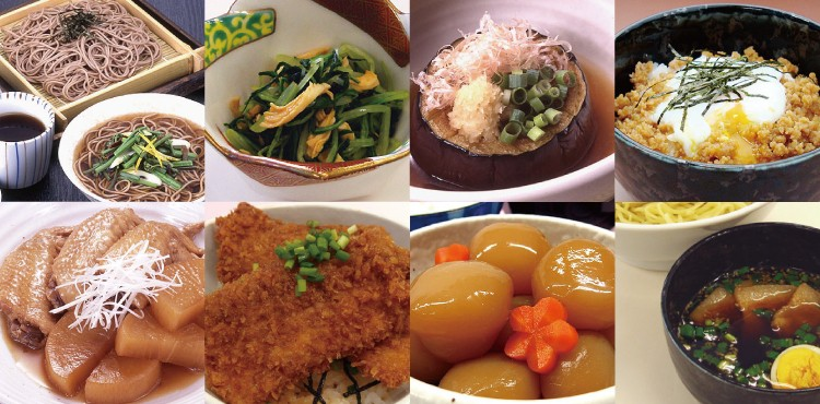 鰹つゆ料理画像