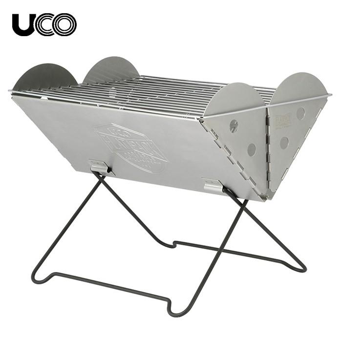 UCO フラットパックポータブル グリル&ファイヤーピット