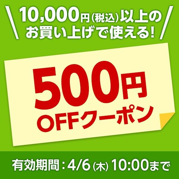 3/16(木)10:00から4/6(木)10:00まで!全品対象!10,000円以上お買い上げで使える500円クーポン