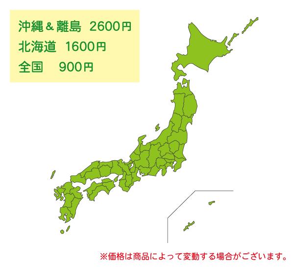 日本地図,送料,配送料,集荷,代引き,元払い,郵便,宅配