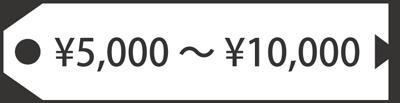 5000円-10000円
