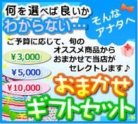 おまかせギフトセット 出産祝いに困ったら?3000円でお届けします。