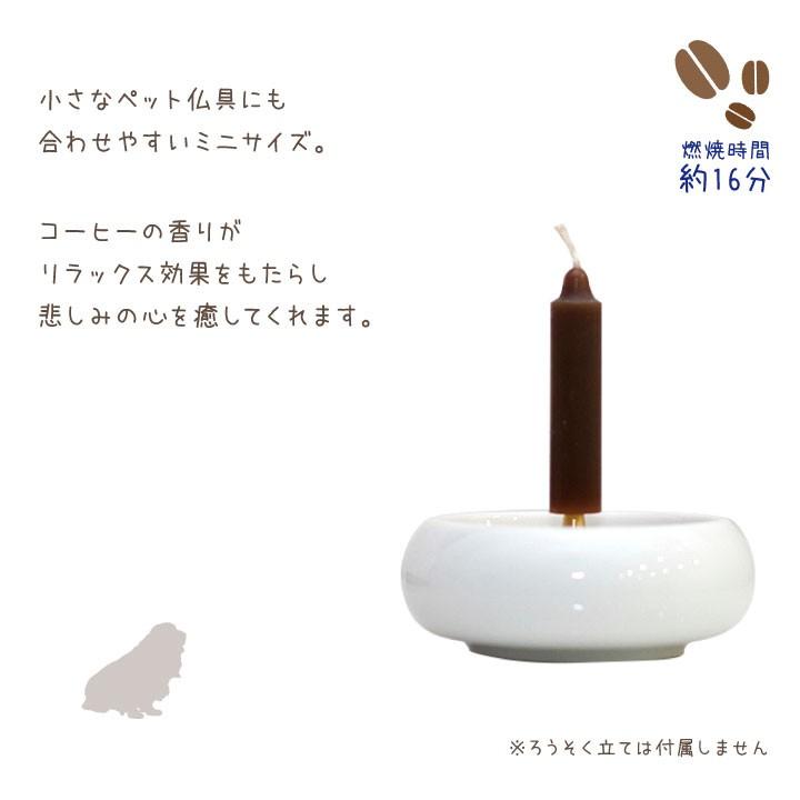 コーヒーの香りのミニキャンドル