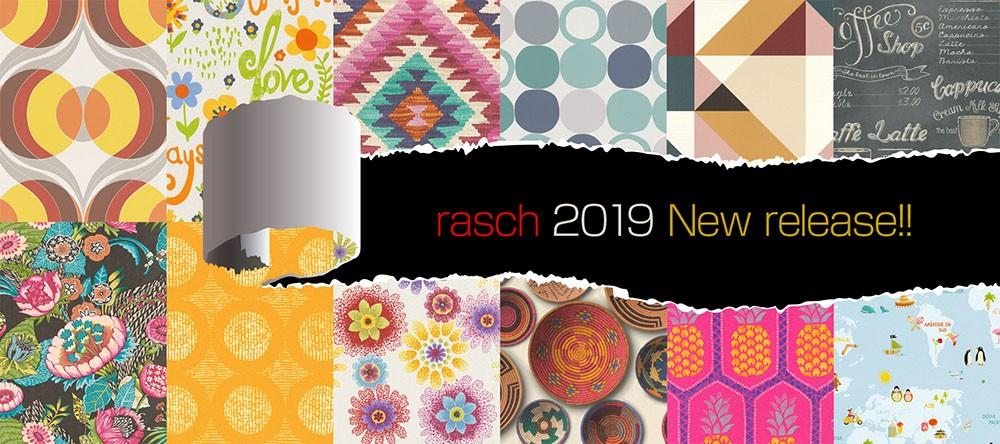 rasch2019 New release!! raschの新作が大量入荷しました♪