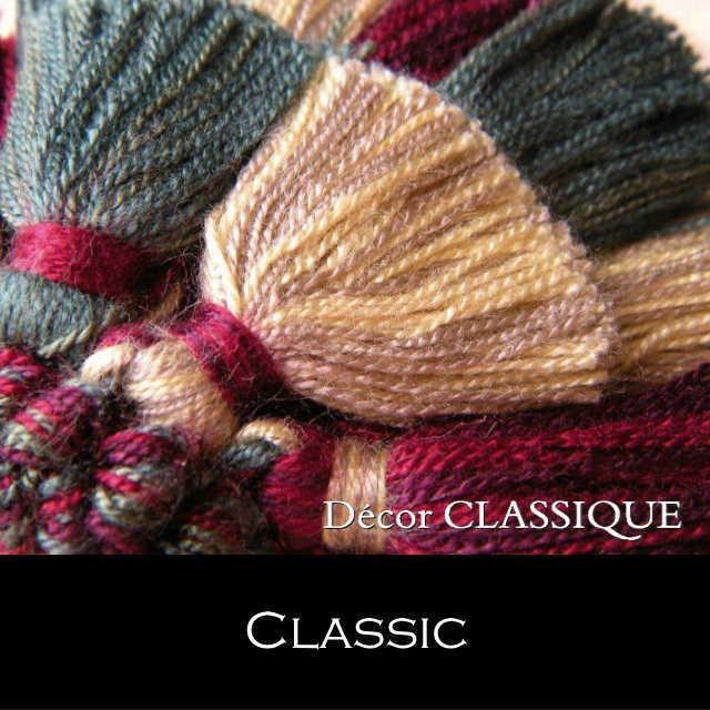 オリジナル キータッセル|ダブルレイヤー | コットン素材 | Decor CLASSIQUE|decor-classique|16