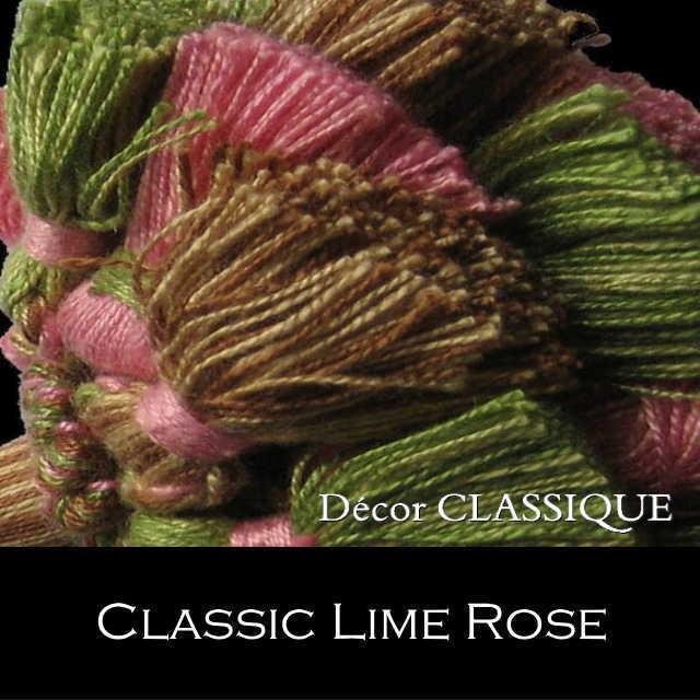 オリジナル キータッセル|ダブルレイヤー | コットン素材 | Decor CLASSIQUE|decor-classique|10