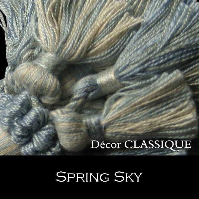 オリジナル キータッセル|ダブルレイヤー | コットン素材 | Decor CLASSIQUE|decor-classique|11