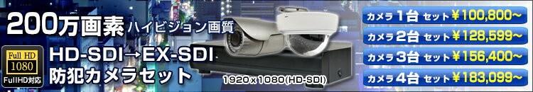 HD-SDI防犯カメラ
