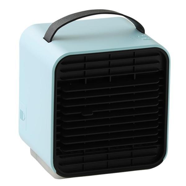 ベビーカー 扇風機 延長保証+1年  充電 静音 冷風機 保冷剤 卓上 冷風扇 コンパクト 小型 USB 充電式ミニ ポータブル エアコン クーラー 赤ちゃん Qurra クルラ|dejiking|23