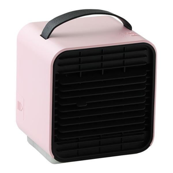 ベビーカー 扇風機 延長保証+1年  充電 静音 冷風機 保冷剤 卓上 冷風扇 コンパクト 小型 USB 充電式ミニ ポータブル エアコン クーラー 赤ちゃん Qurra クルラ|dejiking|22