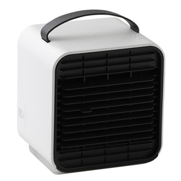 ベビーカー 扇風機 延長保証+1年  充電 静音 冷風機 保冷剤 卓上 冷風扇 コンパクト 小型 USB 充電式ミニ ポータブル エアコン クーラー 赤ちゃん Qurra クルラ|dejiking|24