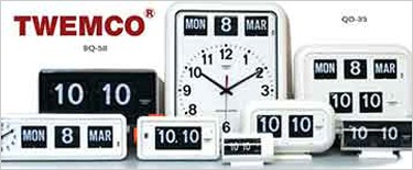 TWEMCO トゥエンコ パタパタ時計