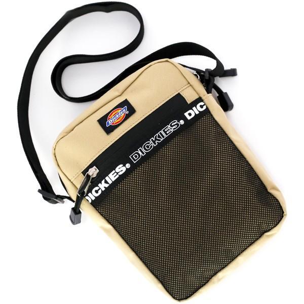 Dickies ショルダーバッグ ディッキーズ LOGOTAPE ロゴテープ スクエア ミニ ショルダー サコッシュ ポーチ バッグ