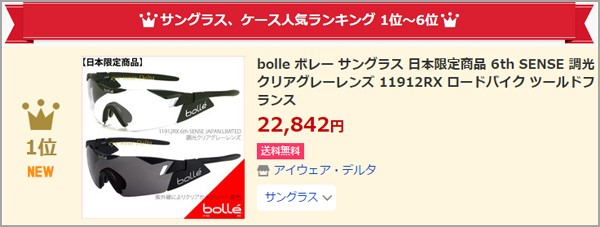 bolle-1位
