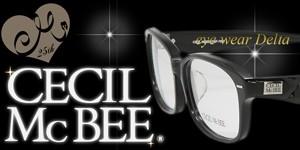 CECIL McBEE メガネ