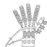 パワーアシストハンドの構造図