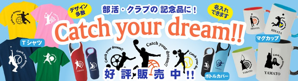 Catch your dream!!バナー
