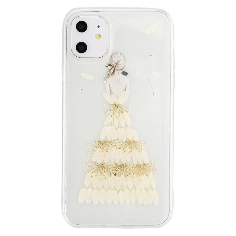 iPhone11 ケース アイフォン11 ケース iPhone8 ケース iPhone11proケース XR ケース 花 押花 かわいい dm「プリンセス」|designmobile|15