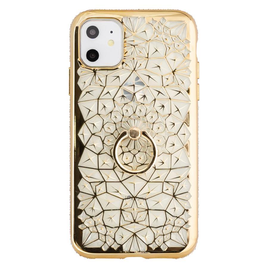 iPhone11 ケース アイフォン11 ケース iPhone8 ケース iPhone11proケース XR ケース リング キラキラ かわいい dm「ジュエル」 designmobile 16