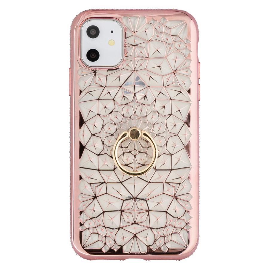 iPhone11 ケース アイフォン11 ケース iPhone8 ケース iPhone11proケース XR ケース リング キラキラ かわいい dm「ジュエル」 designmobile 17