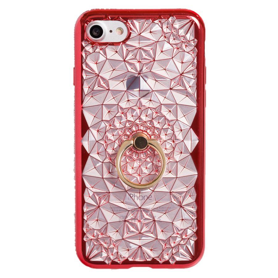 iPhone11 ケース アイフォン11 ケース iPhone8 ケース iPhone11proケース XR ケース リング キラキラ かわいい dm「ジュエル」 designmobile 18