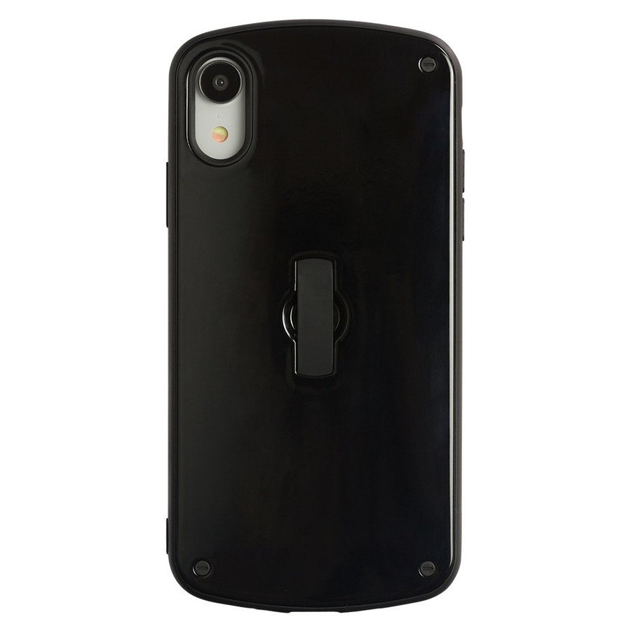 iPhone11 ケース アイフォン11 ケース iPhone8 ケース iPhone11proケース XR ケース 耐衝撃 スマイル リング 付き dm「フラットリング」|designmobile|22