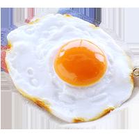 たまごの食品サンプル