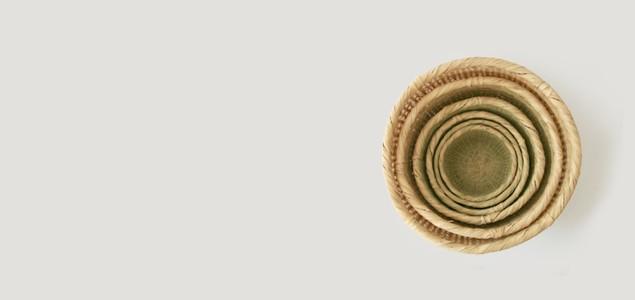 山梨 富士 スズ竹細工|米とぎ ザル(米とぎざる) 5合 [米とぎ ザル(米とぎざる) スズ竹細工]