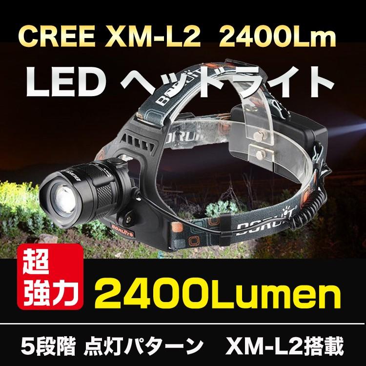 ヘッドライト2400ルーメン