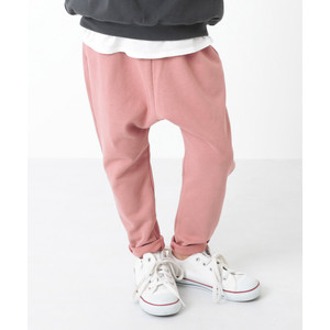 子供服 ロングパンツ 長ズボン キッズ 子供 無地 シンプル 男の子 女の子 パンツ おしゃれ スウェットサルエルパンツ デビロック devirock devirock PayPayモール店