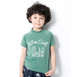 子供服 半袖ラッシュガード キッズ 男の子 水着・プールグッズ devirock デビロック|devirock PayPayモール店