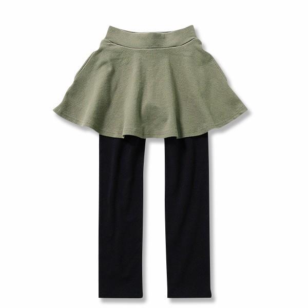 子供服 女の子 スカッツ 10分丈 韓国子供服 スカート付き レギンス 無地 キッズ 子ども 秋 冬 セール ×送料無料 M1-2|devirockstore|22