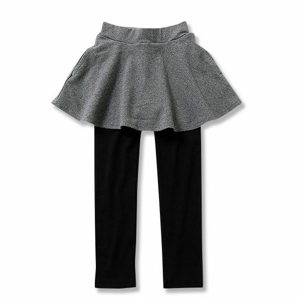 子供服 女の子 スカッツ 10分丈 韓国子供服 スカート付き レギンス 無地 キッズ 子ども 秋 冬 セール ×送料無料 M1-2|devirockstore|20