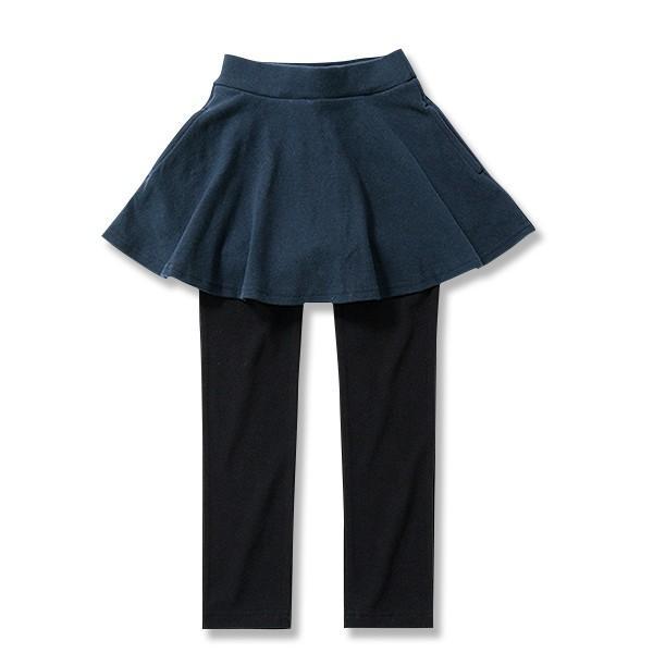 子供服 女の子 スカッツ 10分丈 韓国子供服 スカート付き レギンス 無地 キッズ 子ども 秋 冬 セール ×送料無料 M1-2|devirockstore|21