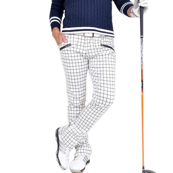 ゴルフウェア メンズ パンツ スリット ズボン 暖パン ゴルフパンツ ゴルフ ウエア 大きいサイズ ストレッチ 防寒 裏フリース 裏起毛 秋冬 秋 冬 2018 CG-160725|diana|19