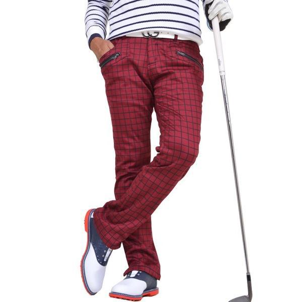 ゴルフウェア メンズ パンツ スリット ズボン 暖パン ゴルフパンツ ゴルフ ウエア 大きいサイズ ストレッチ 防寒 裏フリース 裏起毛 秋冬 秋 冬 2018 CG-160725|diana|21