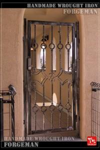 門扉,ロートアイアン,片開き門扉