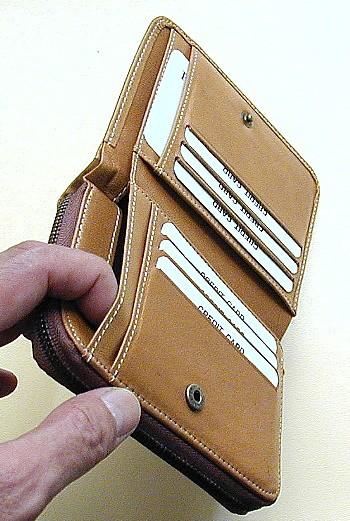 ポニー財布札入れ部分