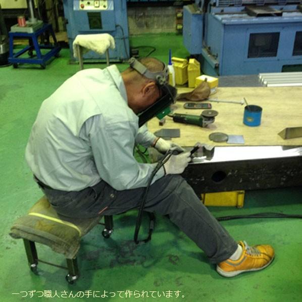 DIY FACTORY テーブル用アイアン脚クランプタイプ(4本セット) 黒 脚の長さ710mm